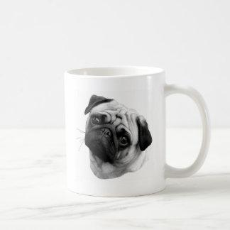 Mopshund Kaffemugg