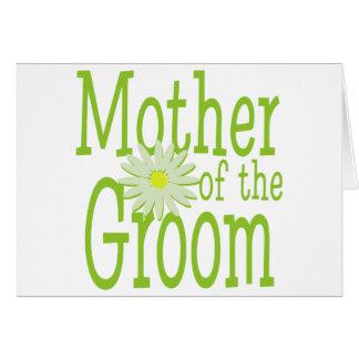 Mor av Groom/daisyn Hälsningskort