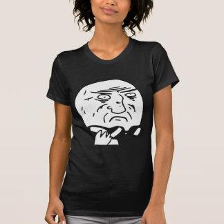Mor av tecknaden Meme för gudursinneansikte T-shirt