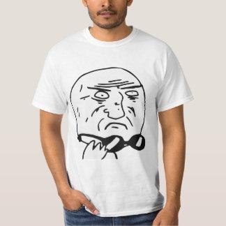 Mor av tecknaden Meme för gudursinneansikte T Shirts