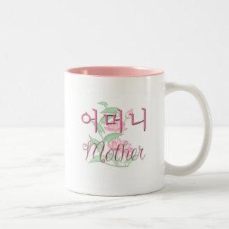 Mor (korean) Två-Tonad mugg