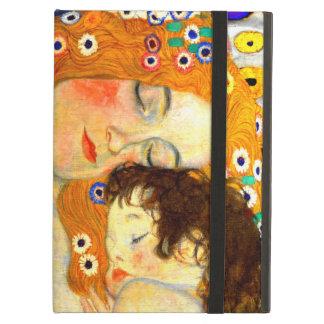 Mor och barn vid den Gustav Klimt art nouveau iPad Air Skydd