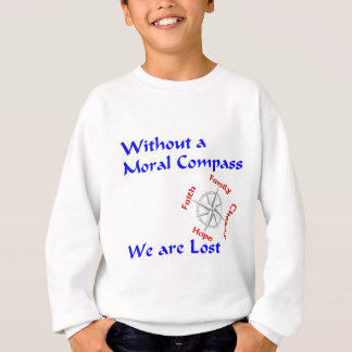 Moralisk kompass t shirt