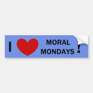 Moraliska Måndag Bildekal