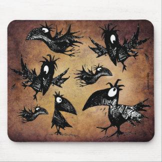 Mord av kråkor musmatta