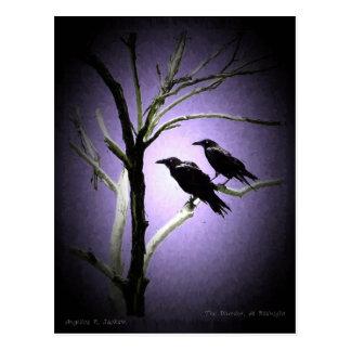 Mord, på midnatt vykort