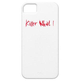 Mördare vad! iPhone 5 cover