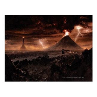 Mordor blixtstorm vykort