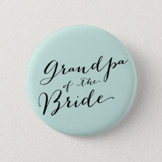 Morfadern av brudbröllopbrudens sida knäppas standard knapp rund 5.7 cm