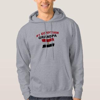 Morfar för egyptier #1 tröja med luva