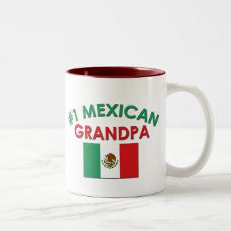 Morfar för mexikan #1 Två-Tonad mugg