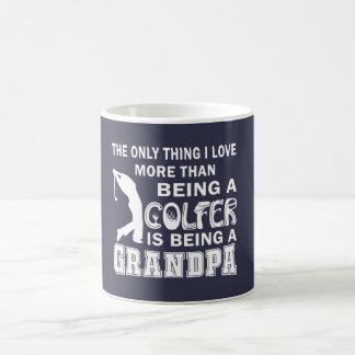 Morfar över Golf Kaffemugg