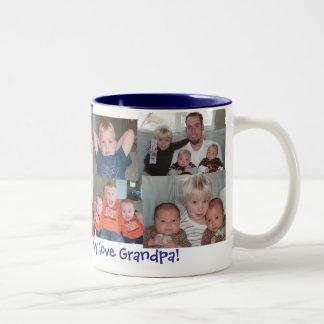 Morfar Två-Tonad Mugg