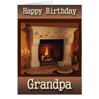 Morfarfödelsedagkort Kort