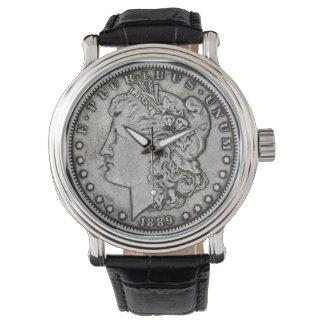 Morgan dollarklocka armbandsur