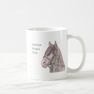 Morgan hästmugg kaffemugg
