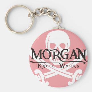 Morgan knivararbeten rund nyckelring