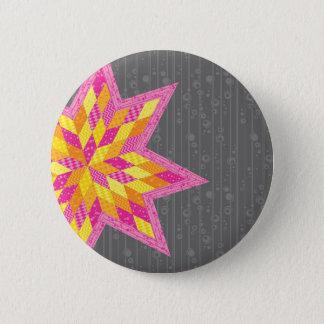 Morgans stjärna standard knapp rund 5.7 cm