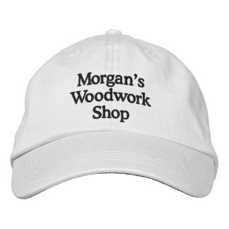 Morgans Woodworkhatt 2 Broderad Keps