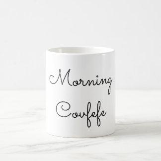 Morgon Covfefe Kaffemugg