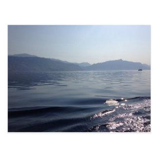 Morgon på havet vykort