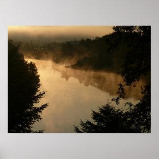 morgon på sjön affischer