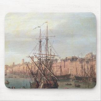 Morgonen beskådar av den inre porten av Marseille Musmatta