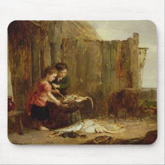 Morgonen fångar, det 19th århundradet musmatta
