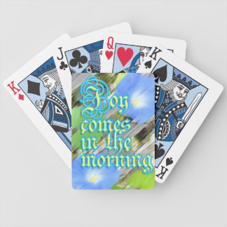 Morgonhärlighetglädje Spelkort