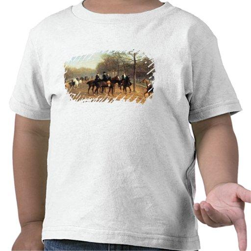 Morgonritten som är rutten ror, Hyde parken, 1894  T Shirt