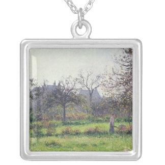 Morgonsol, höst, Eragny, 1897 Silverpläterat Halsband