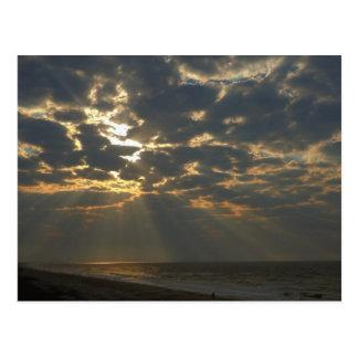 Morgonsol på hav - Oakö, NC Vykort