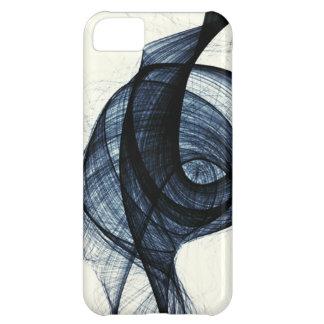 mörk - blått av wirl röker och fara iPhone 5C fodral