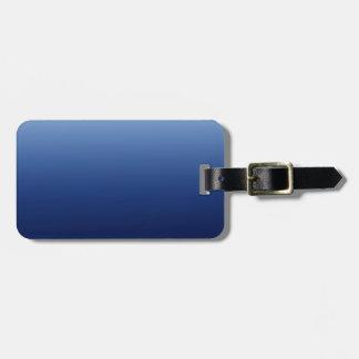 Mörk - blått bagagebricka