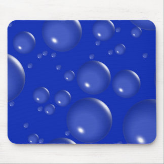 Mörk - blått bubblar Mousepad Musmatta