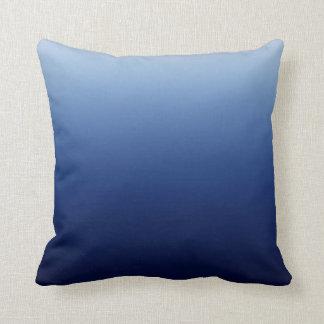Mörk - blått kudde