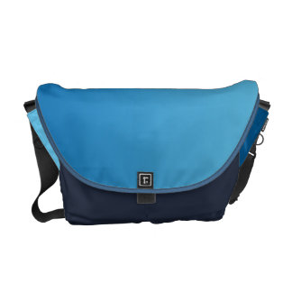 Mörk - blått Ombre Kurir Väskor