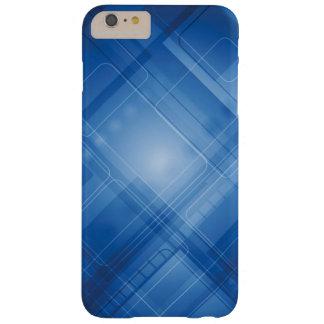 Mörk - blåtthigh techbakgrund barely there iPhone 6 plus skal