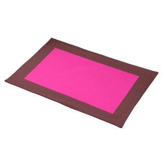 Mörk Cranberry och djupt - rosa bordstablett