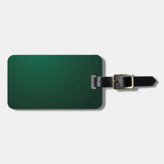 MÖRK ~ för SMARAGD (en mörk - den gröna designen Bagagebricka