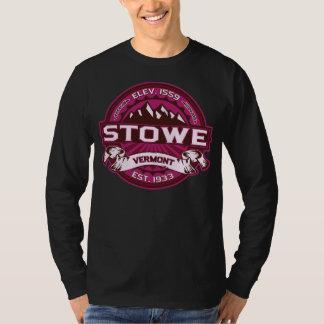Mörk för Stowe logotyphallon Tee