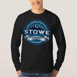 Mörk för Stowe logotypis Tee Shirt