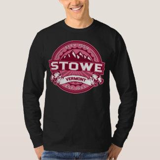 Mörk för Stowe logotypkaprifol T-shirt