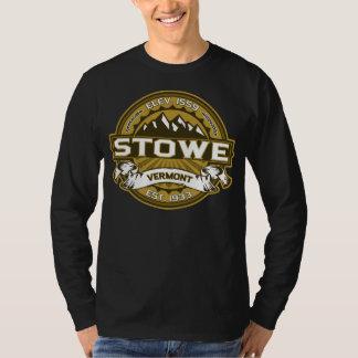 Mörk för Stowe logotypsolbränna Tee Shirt