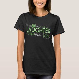 """Mörk för tshirt för jobb8:21""""glädje"""" färgade t-shirts"""