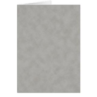 Mörk - grå Parchmentstrukturbakgrund Hälsningskort