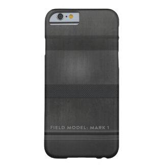 Mörk - grått modellera - markera I Barely There iPhone 6 Skal
