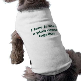 Mörk - grönt älskar jag den hundutslagsplatsen hundtröja
