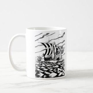 Mörk havsresa kaffemugg