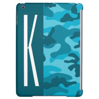 Mörk & himmelblått Camo; Kamouflage